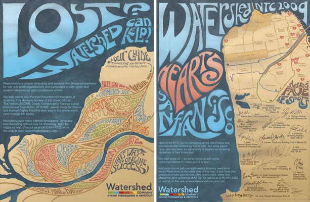 Promotional poster for Watershed Company